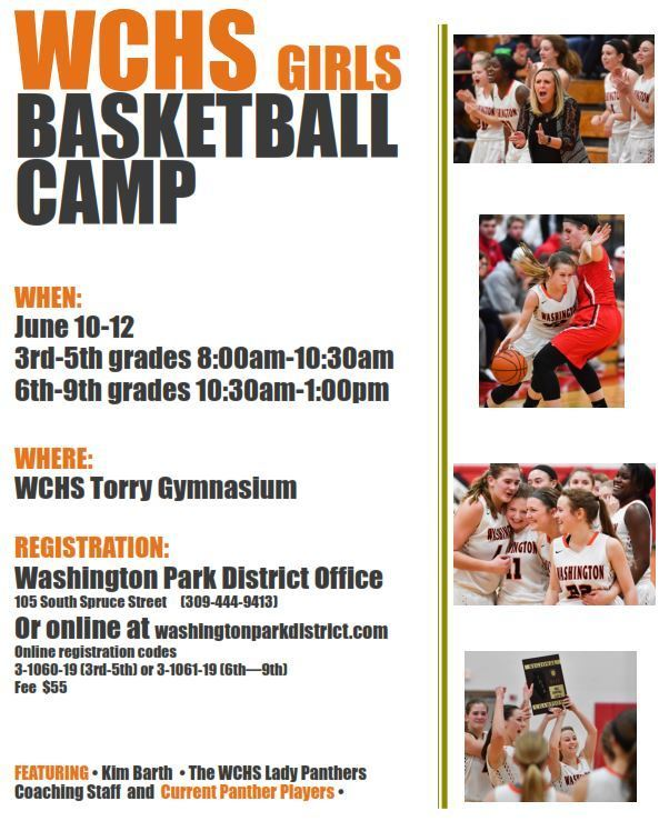 WCHS Girls Basketball Camp-Grades 3-6