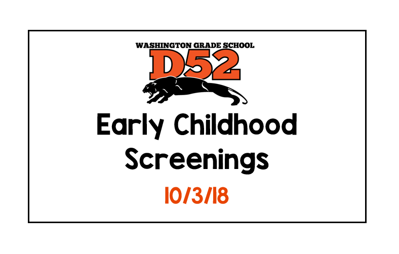 D52 Early Childhood Screenings
