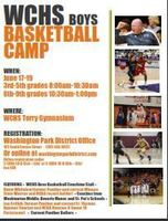 WCHS Boys Basketball Camp-Grades 3-6