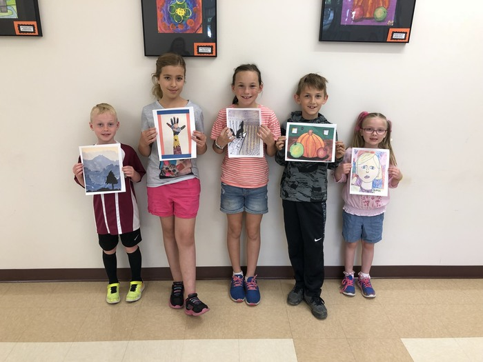 LGS Art Show Winners '18