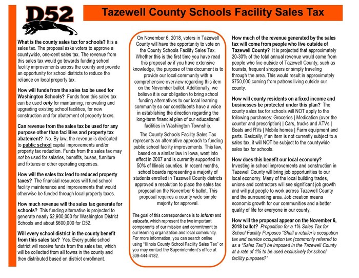 School Facility Sales Tax FAQ