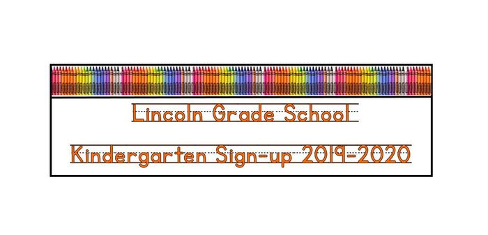 Kindergarten Sign-up 2019
