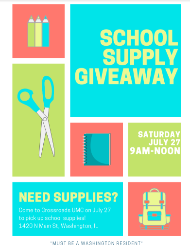 Supply Giveaway